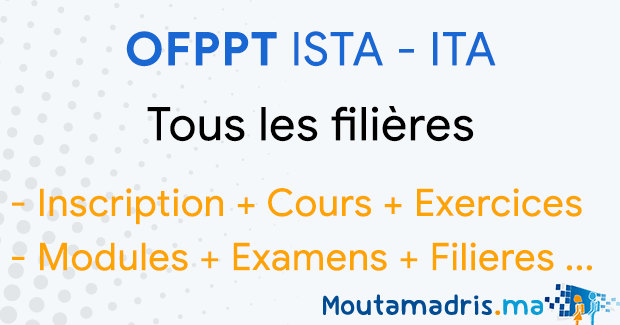 ofppt agadir   inscription cours exercices modules et