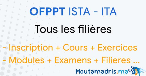 ofppt agadir   inscription cours exercices modules et