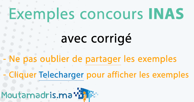 Exemple concours INAS