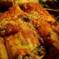 Shrimp Creole Spinach Cannelloni