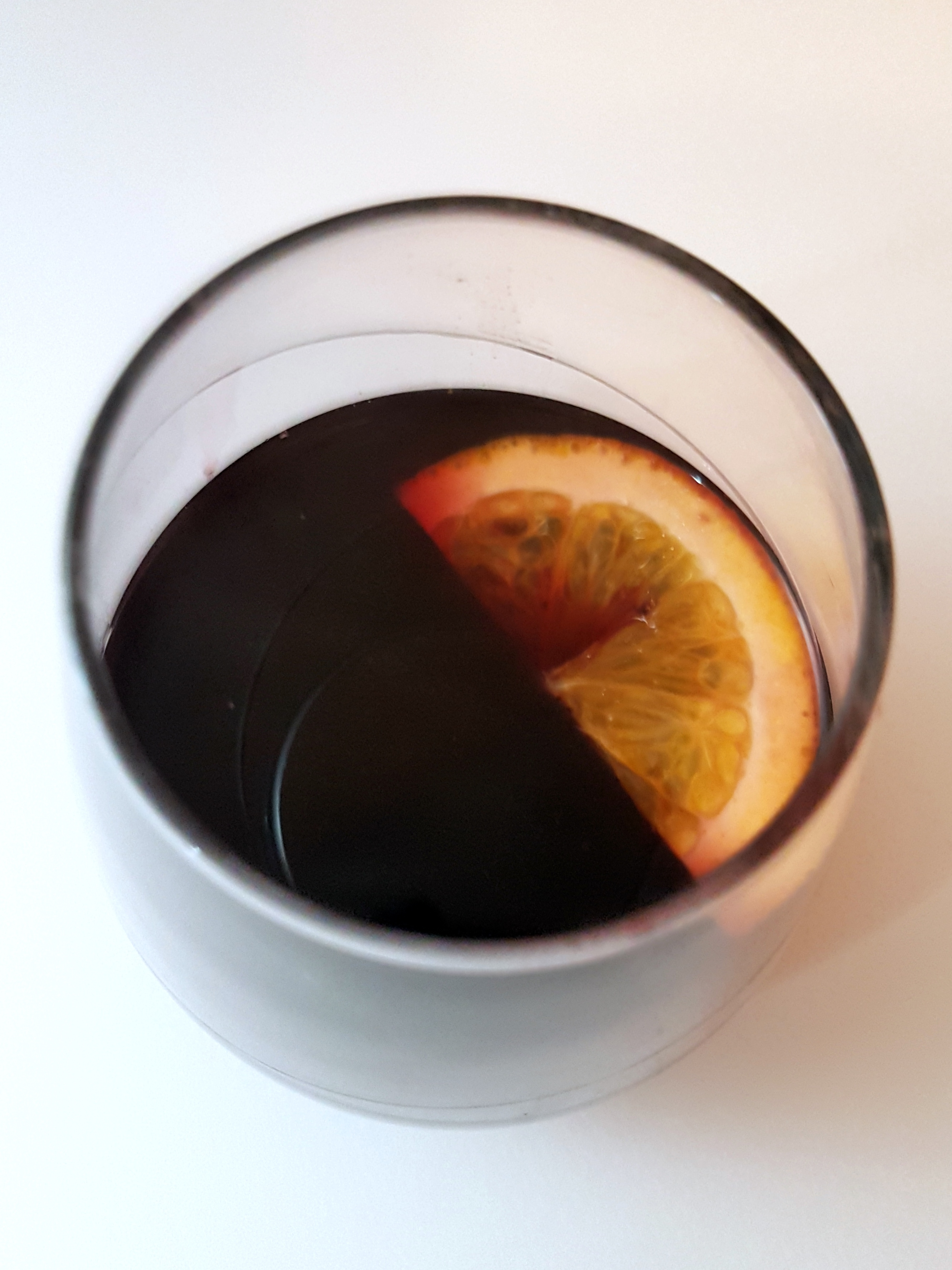 Glass Of Slow Cooker Mulled