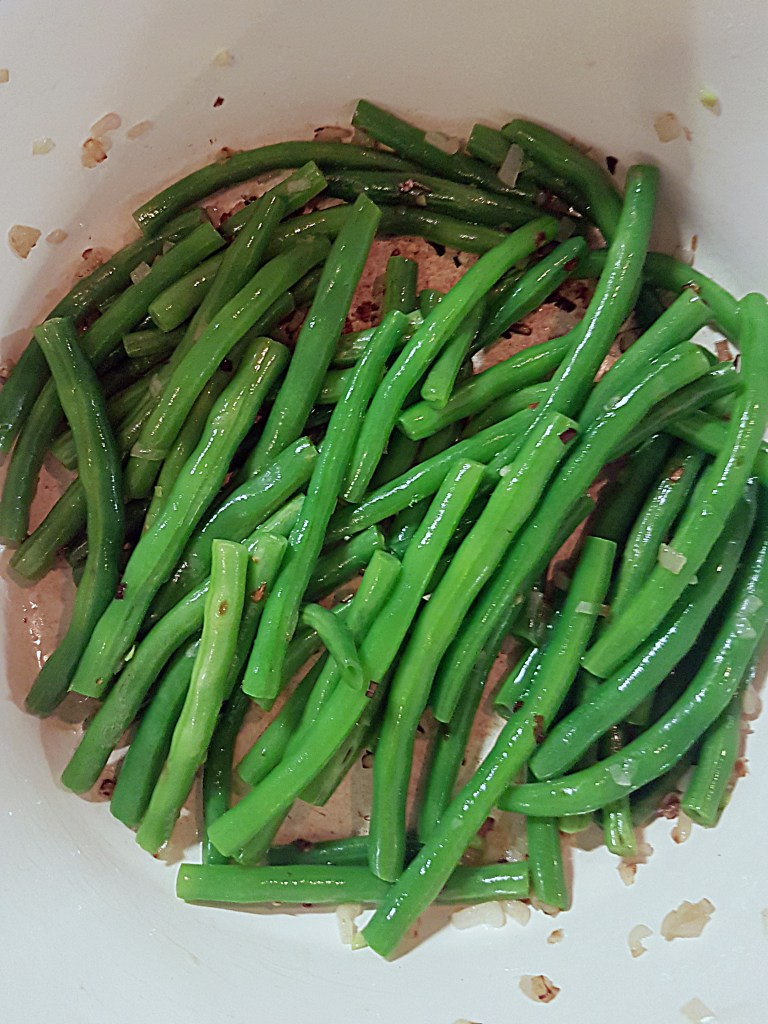 These quick green beans are a great springtime side dish. Don't be scared away by the nutritional yeast, it gives this dish an almost nutty/cheesy flavour while keeping it vegan. Recipe at Mouth Half Full.