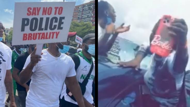 VIDEO: ENDSARS: We can't survive without 'Yahoo boys'— Prostitutes laments