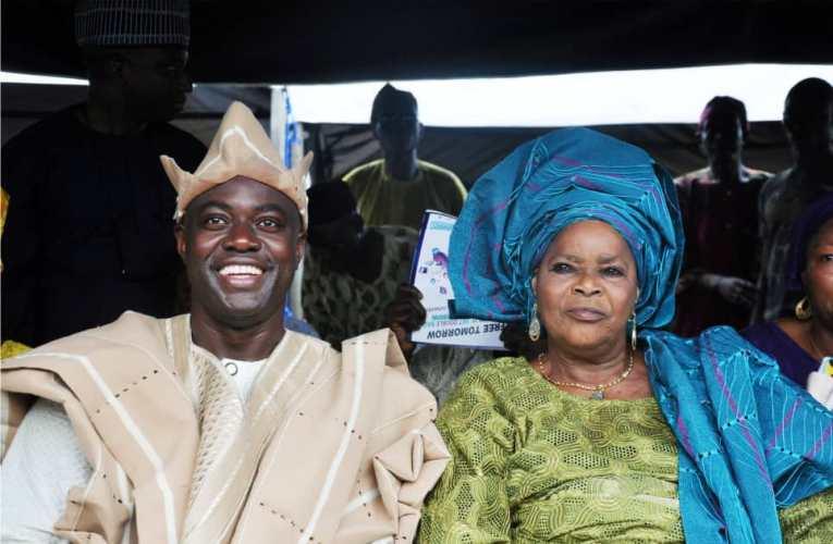 Oyo PDP State Excos Pays Makinde Condolence Visit, Eulogises Mama Makinde