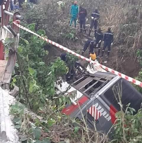 Just In: 37 die in ghastly bus accident
