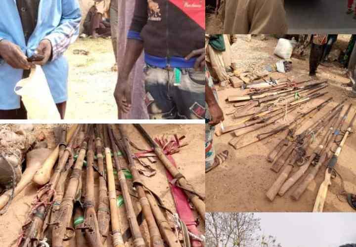 Just In: Oyo Amotekun arrests twenty five Hausa men with guns