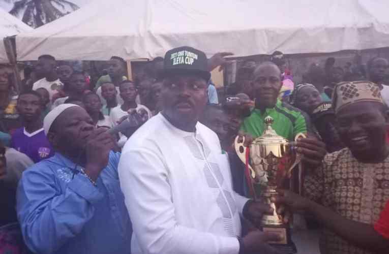 Wole Akinleye facilitates Omituntun Ileya Cup, hails Gov. Makinde