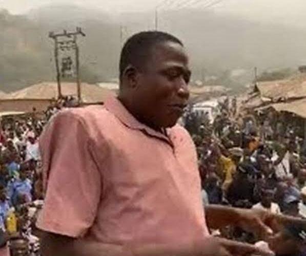BREAKING: Sunday Igboho poisoned in Cotonou prison, says Kemi Olunloyo