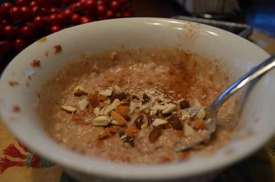 Apple Peanut Butter Protein Oats