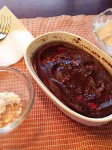 Chocolate Coconut Raspberry POV Cake
