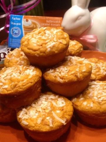 Coconut Butterscotch Blondies