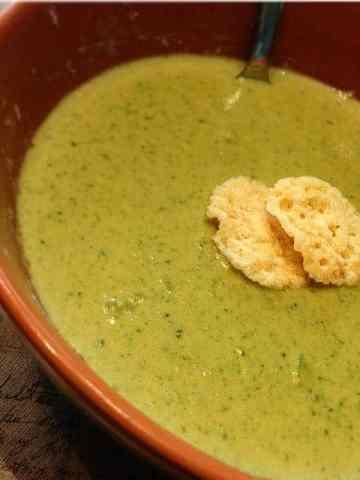 Easiest Keto Broccoli OR Cauliflower Soup