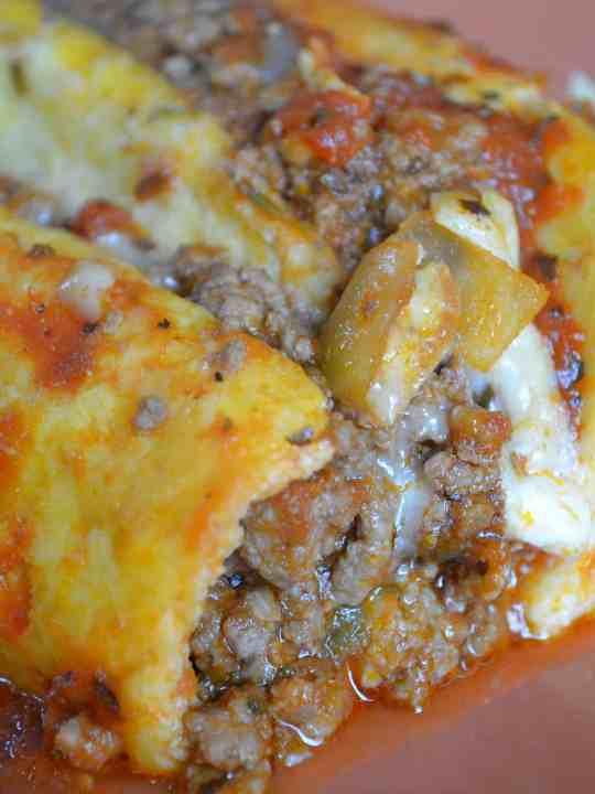 Keto Lasagna WITH NOODLES!