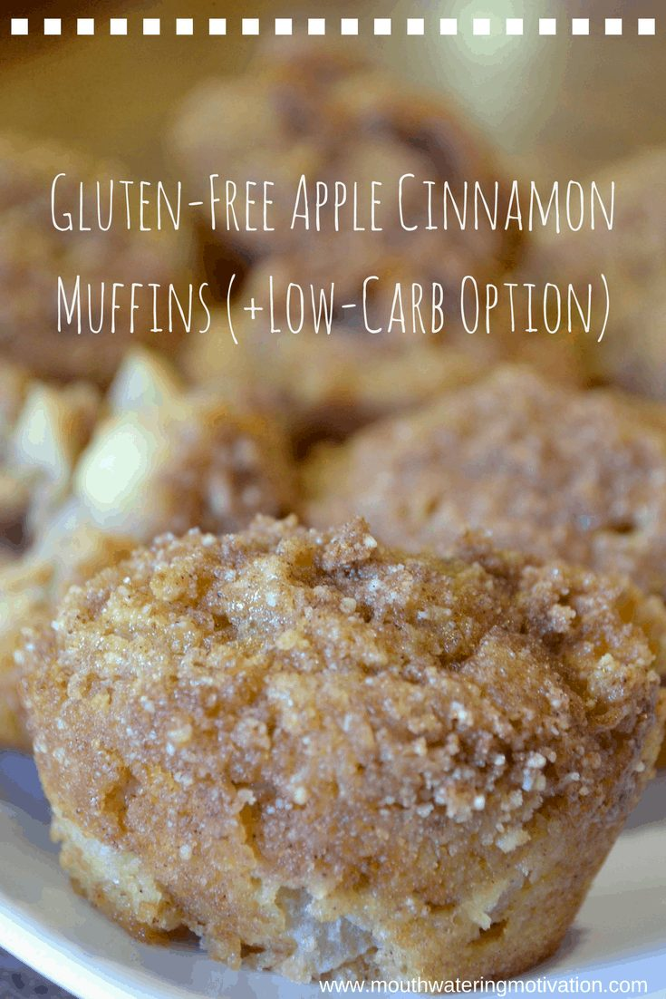 Low Carb Apple Cinnamon Muffins