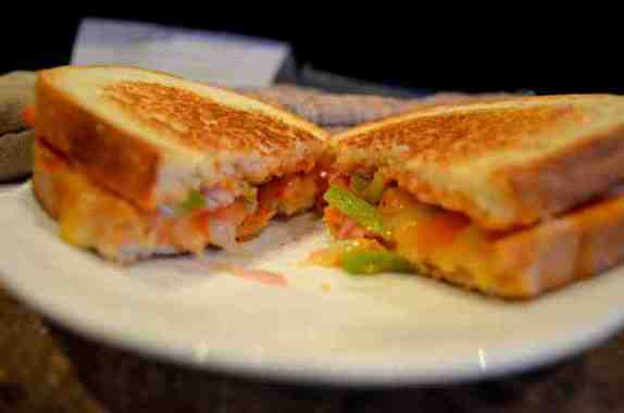 Healthy Pizza Grilled Cheese
