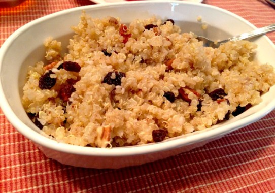 Coconut Maple Pecan Dessert Quinoa!