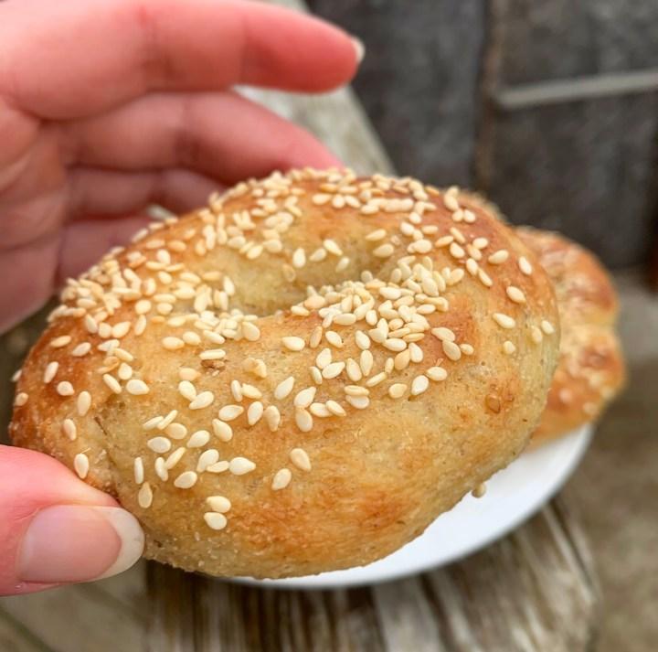 low-carb bagels