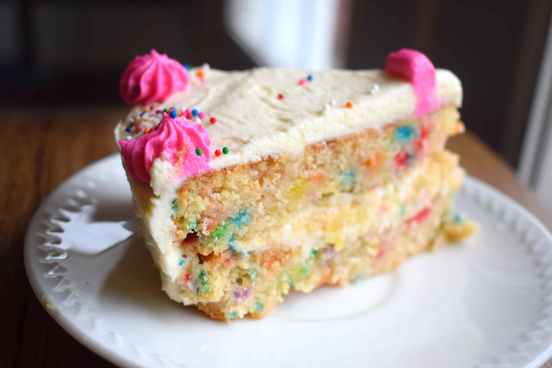 Fantastic Keto Funfetti Birthday Cake Mouthwatering Motivation Personalised Birthday Cards Paralily Jamesorg