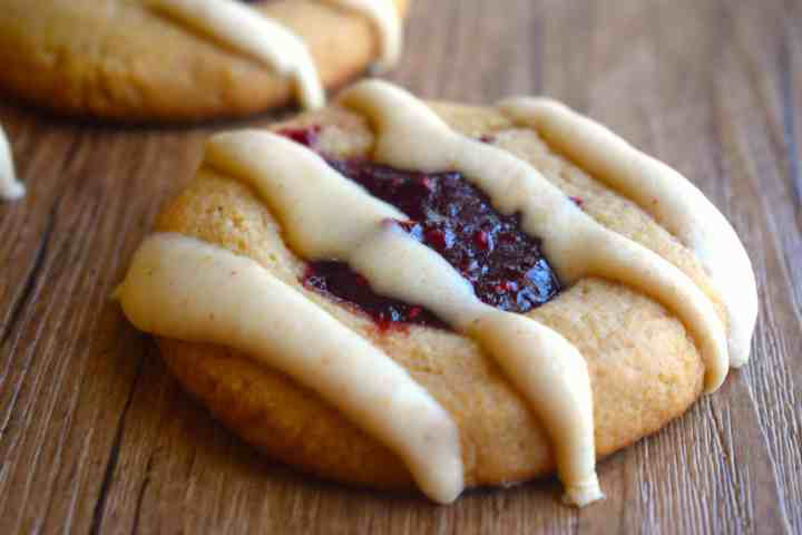 keto peanut butter jelly cookies