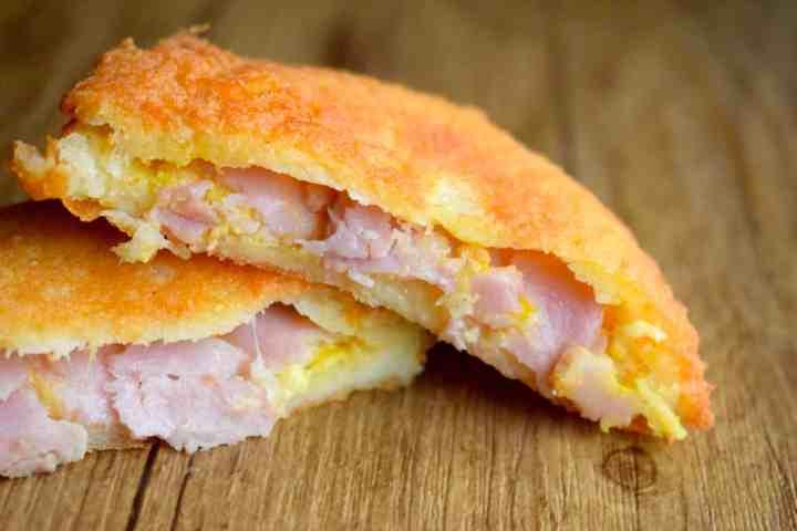 keto ham and cheese fat head dough