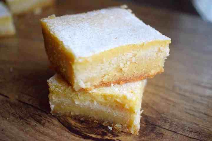 Keto Low Carb Lemon Bars Recipe