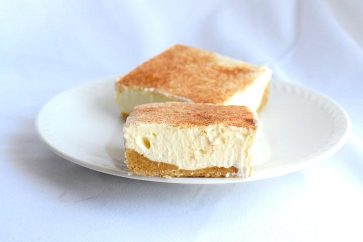 keto no bake snickerdoodle cheesecake bars