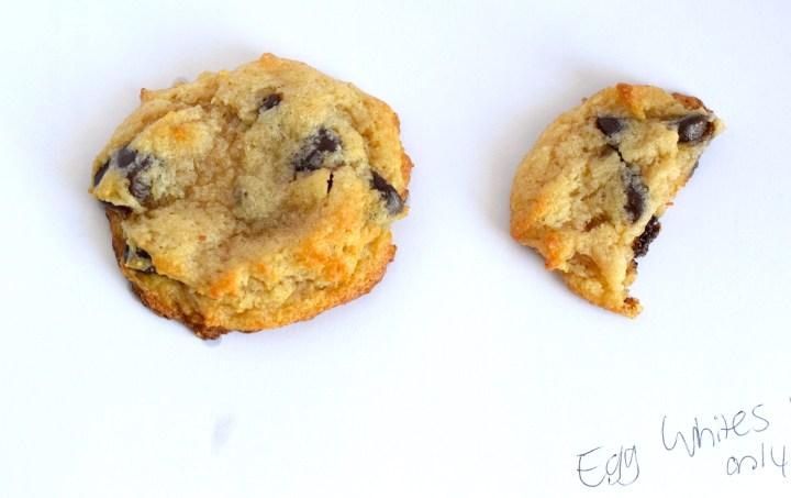 keto egg white psyllium husk chocolate chip cookies