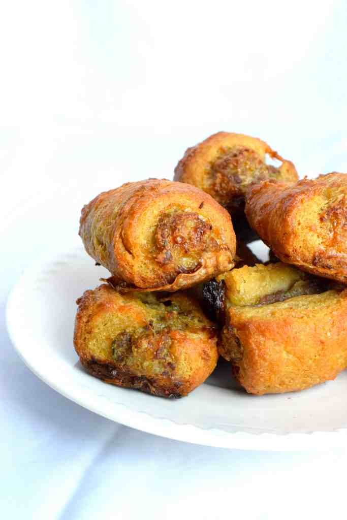 keto sausage appetizer rolls