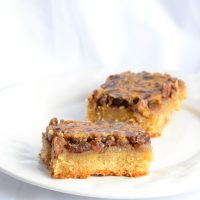 Low Carb Keto Pecan Pie Bars