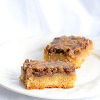 Low Carb Keto Pecan Pie Bars