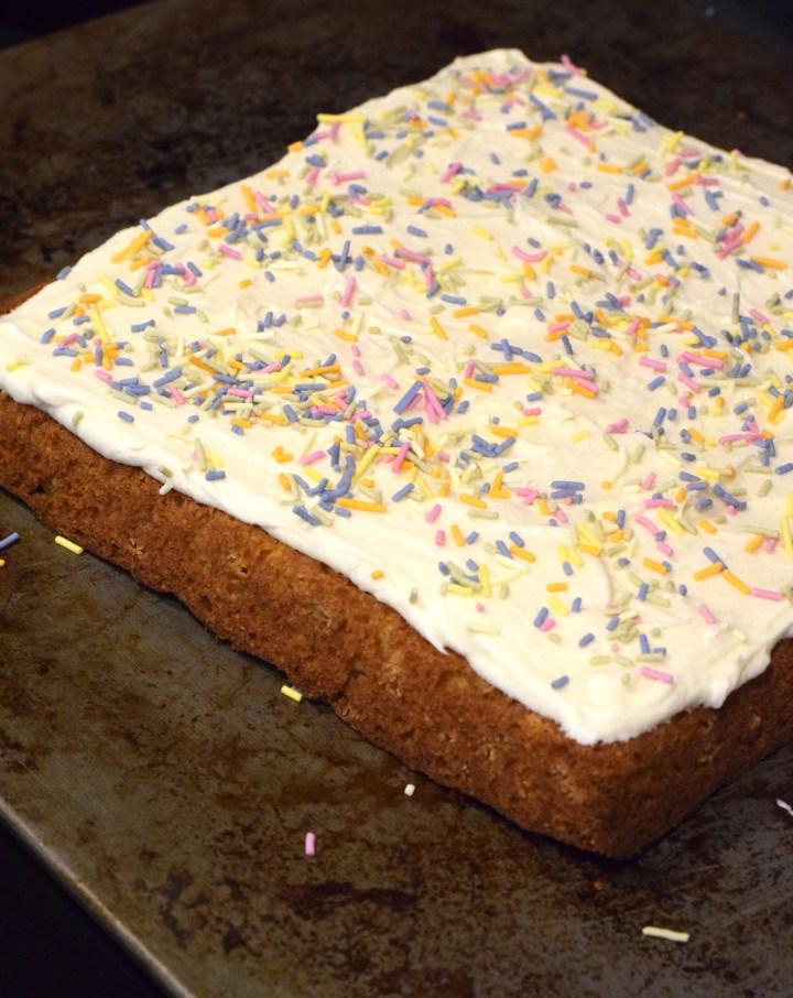 keto sprinkle cake recipe