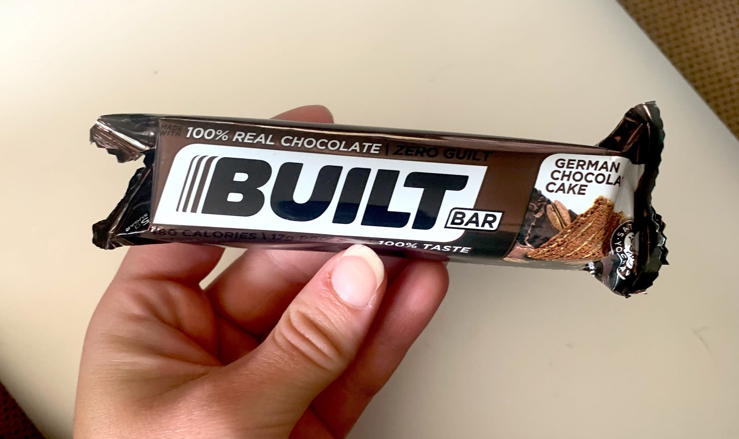 German Chocolate cake built bar review