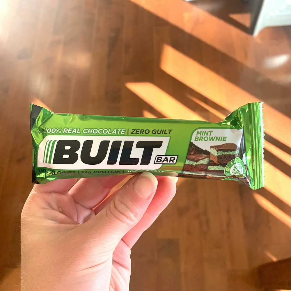 mint chocolate built bar review