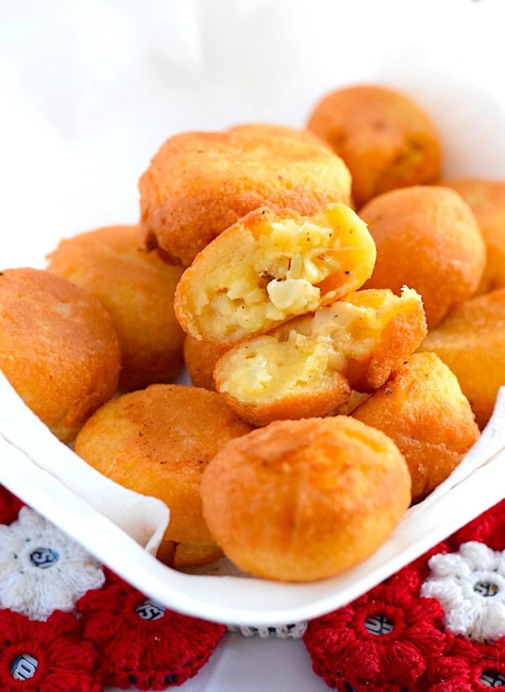 keto fried cauliflower mac and cheese