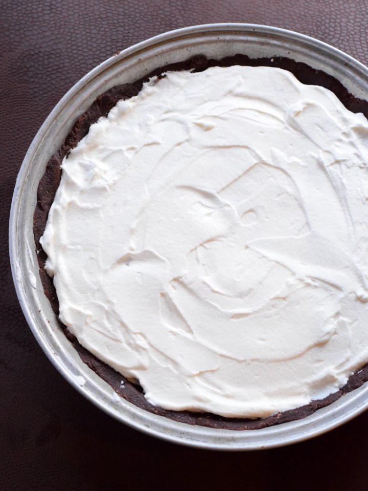 keto whipped cream chocolate pudding pie