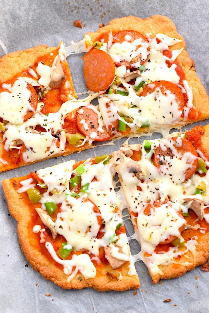 the best keto pizza crust
