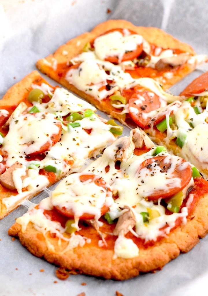 best gluten free easy pizza crust