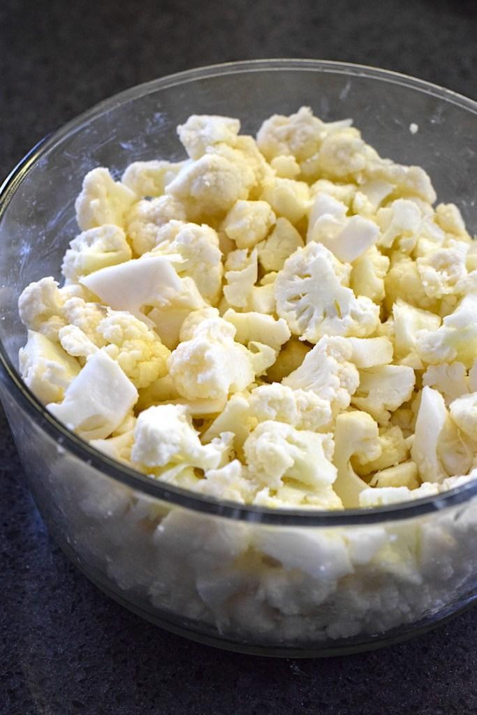 cauliflower and butter