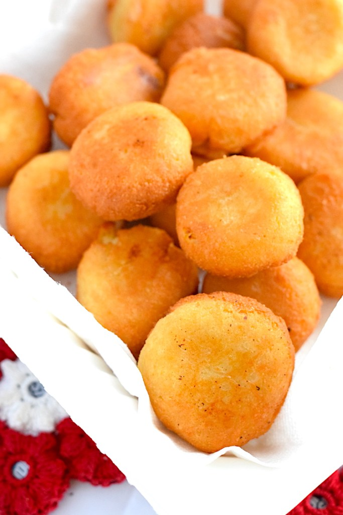 keto fried cauliflower mac and cheese balls