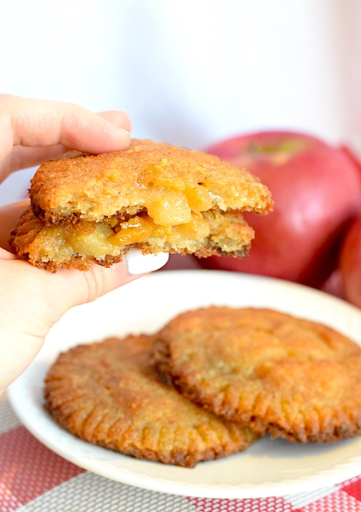 low carb apple turnovers