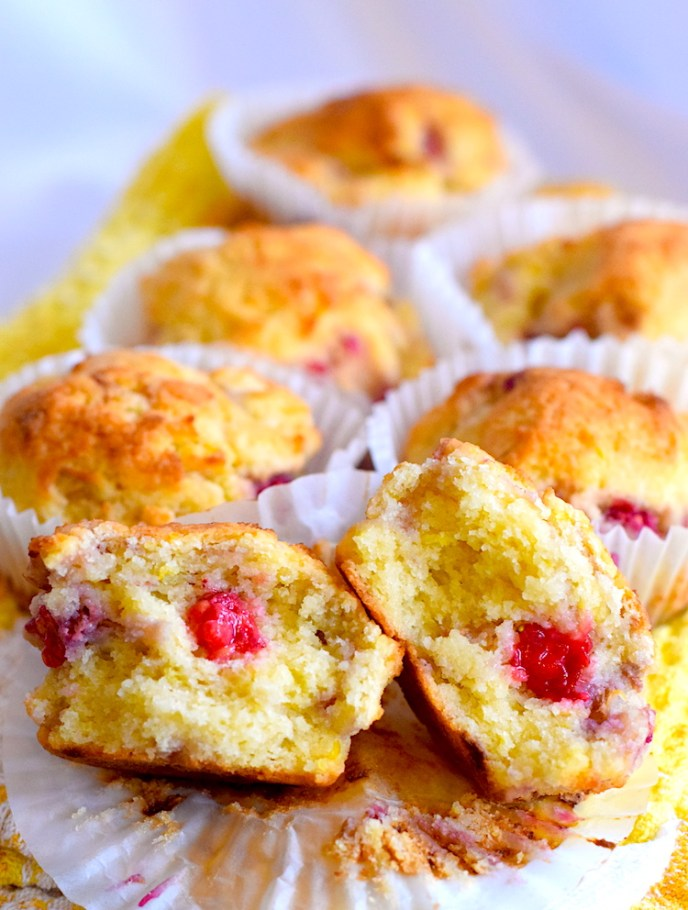 keto lemon raspberry muffin recipe