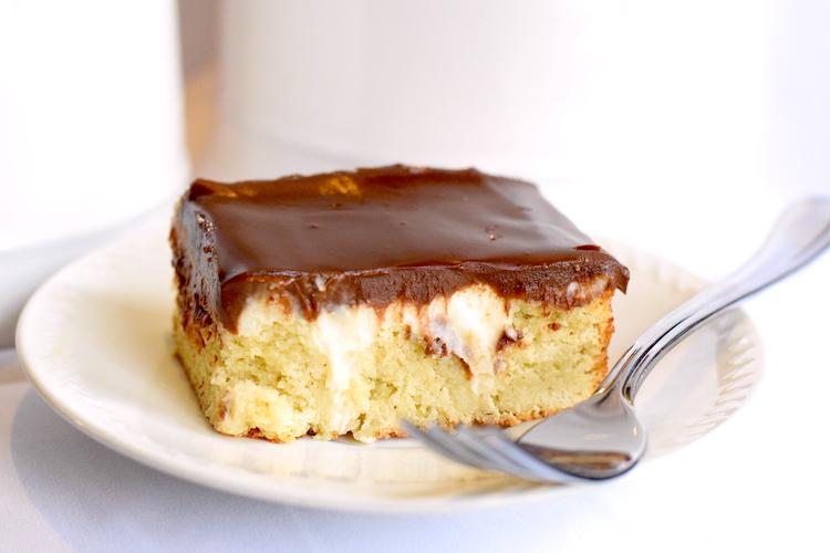keto boston cream dessert
