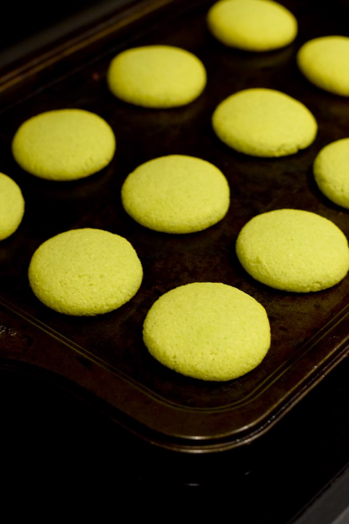 keto green cookies