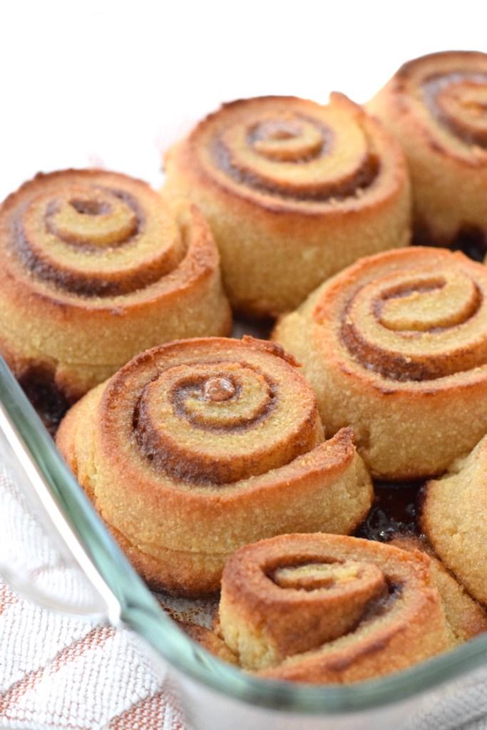 low carb cinnamon rolls