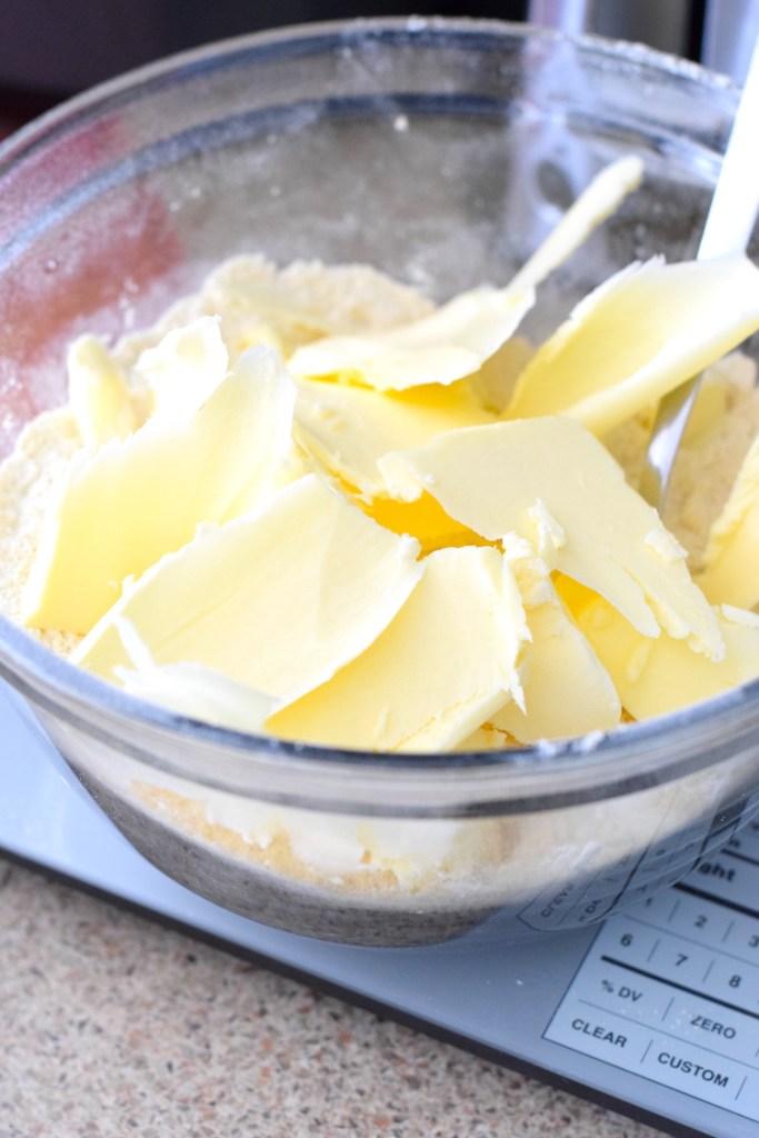 butter, vital wheat gluten