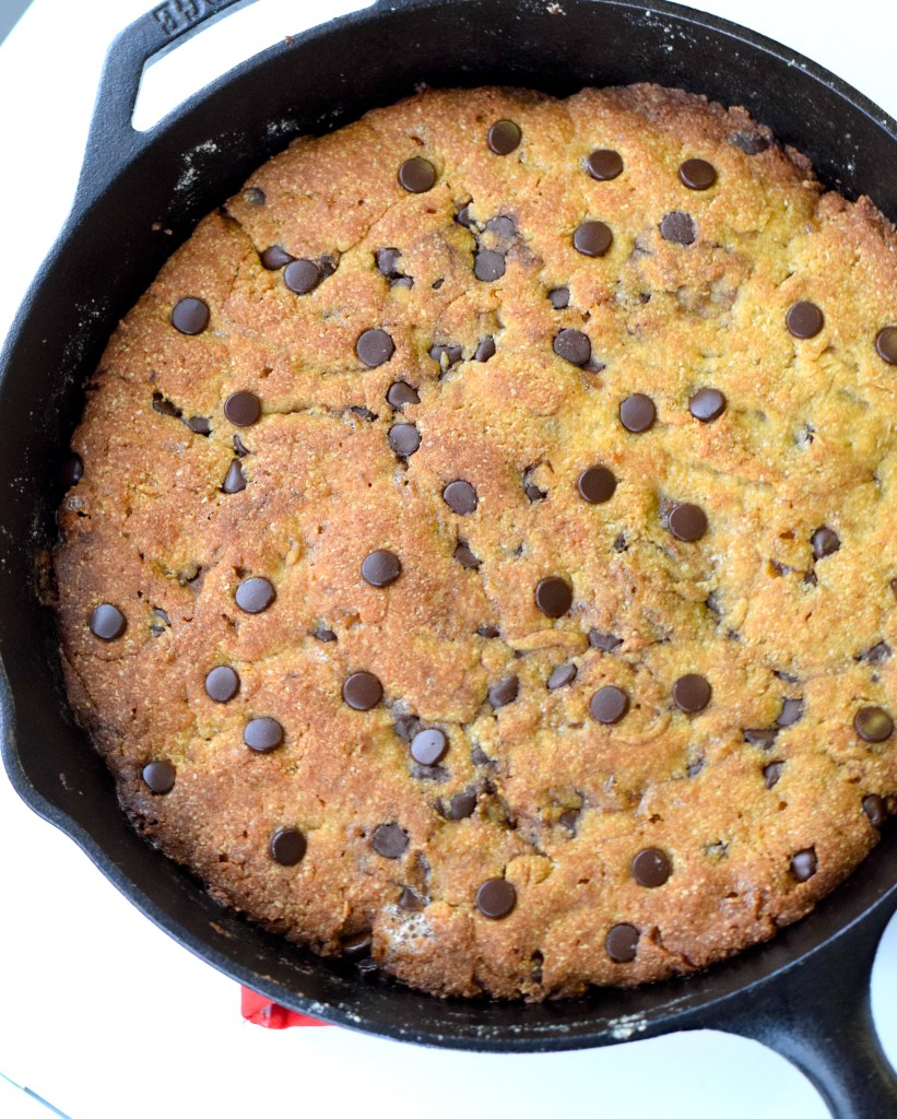keto skillet cookie