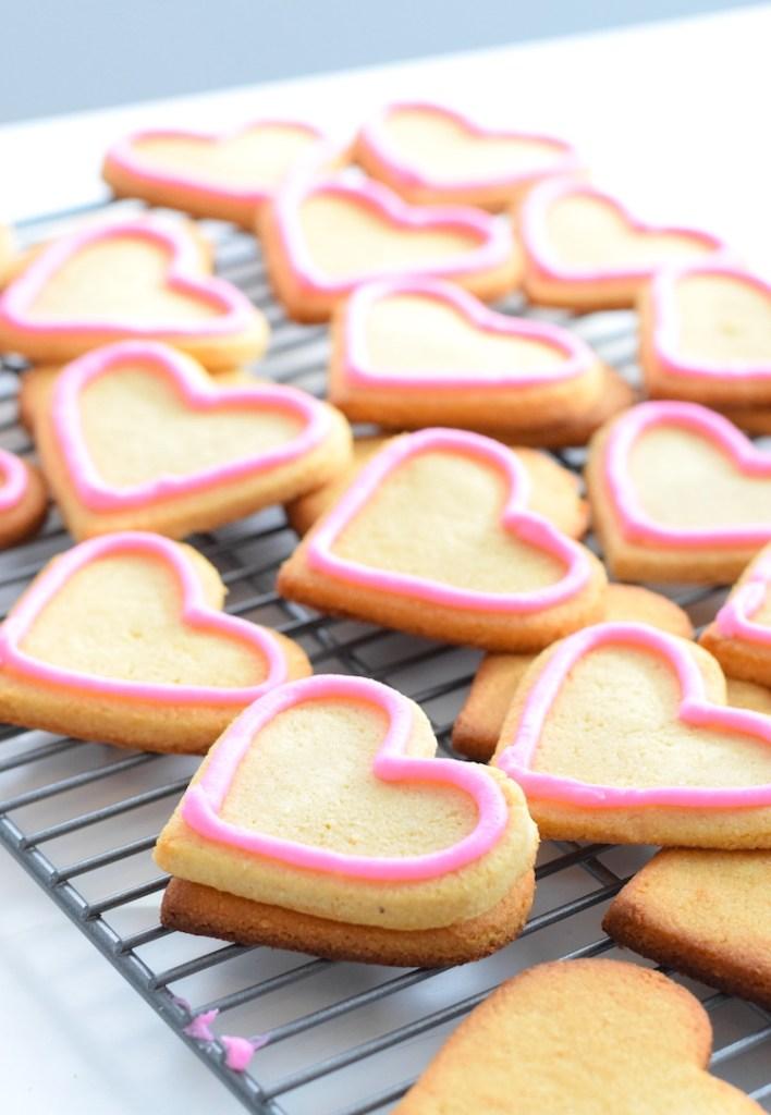keto valentines sugar cookies