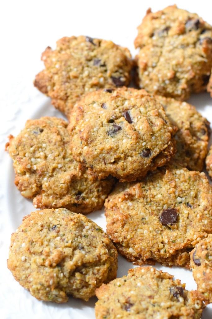 keto oatmeal chocolate chip cookies
