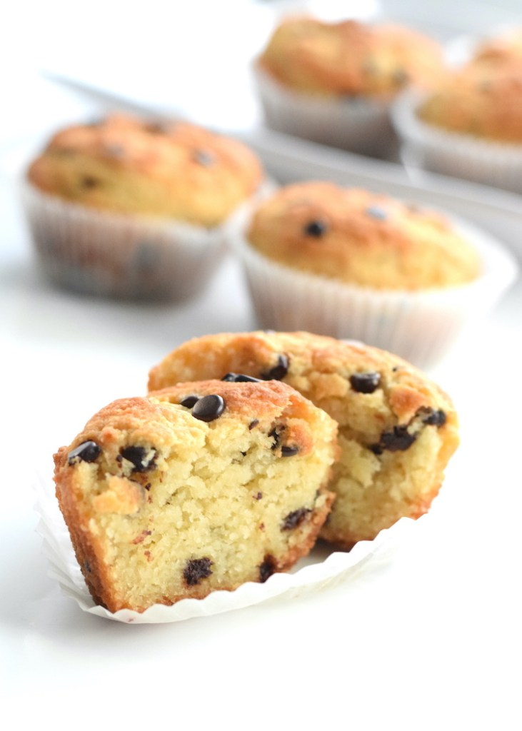 low carb chocolate chip muffins recipe