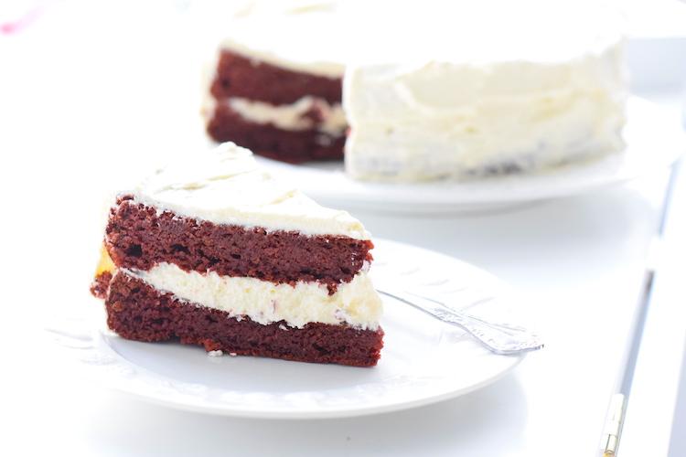 low carb red velvet cake